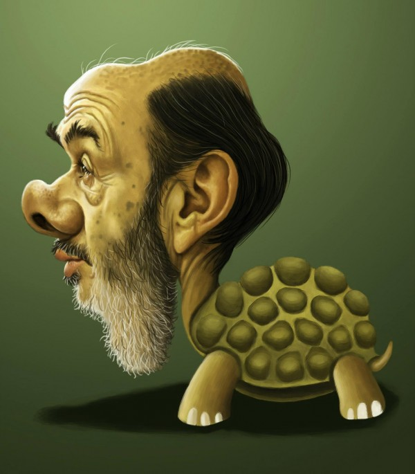 Caricatura de Alfredo Pérez Rubalcaba