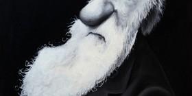 Caricatura de Charles Darwin