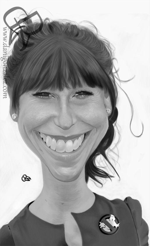 Caricatura de Jennifer Love Hewitt