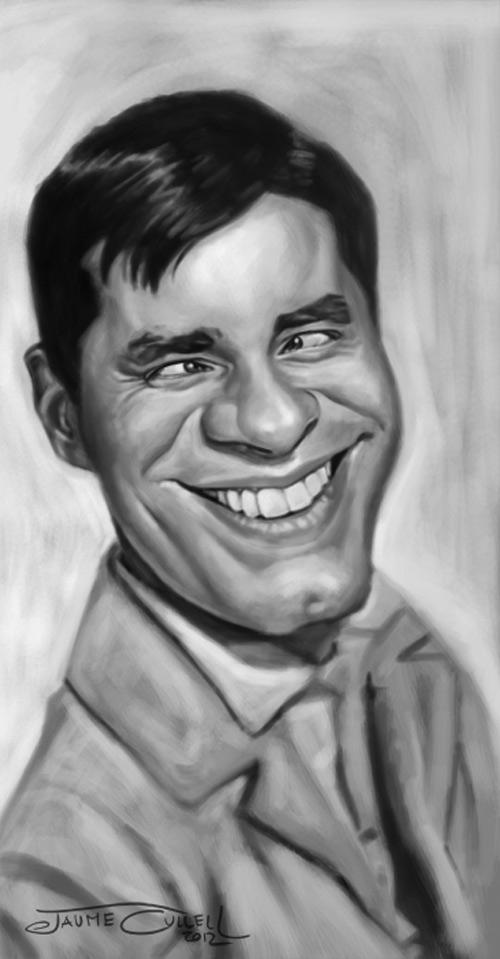 Caricatura de Jerry Lewis