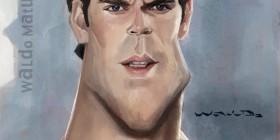 Caricatura de Man of Steel (El hombre de acero)