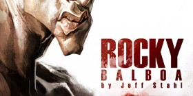 Caricatura de Rocky Balboa