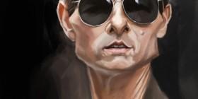 Caricatura de Tom Cruise