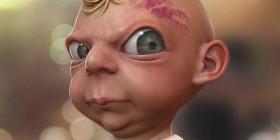 Caricatura de Bebé