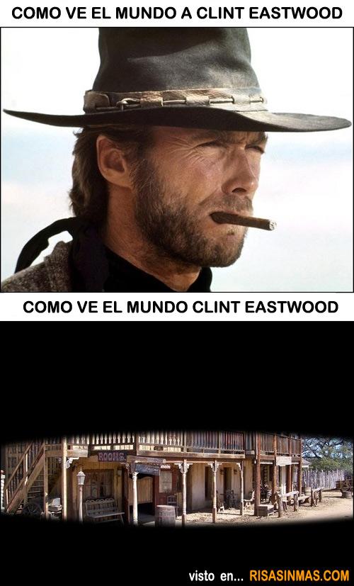 Como ve el mundo Clint Eastwood