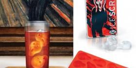 Cubitos de hielo El grito de Edvard Munch