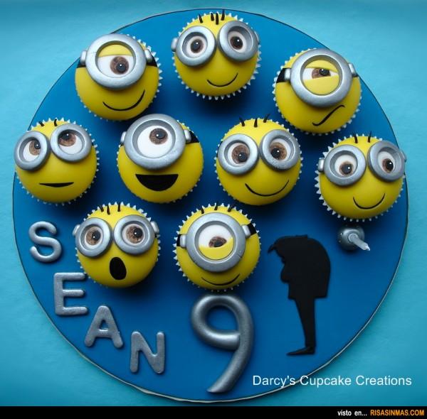 Cupcakes originales: Minions