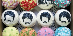 Cupcakes originales: The Beatles