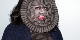 Disfraces horrorosos: galleta Oreo