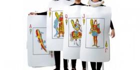 Disfraces originales: Carta de la baraja