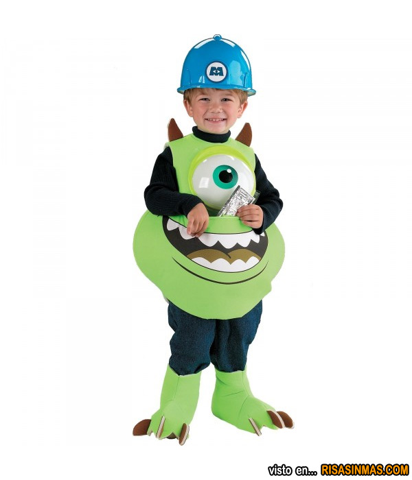 Disfraces originales: Mike Wazowski de Monstruos SA