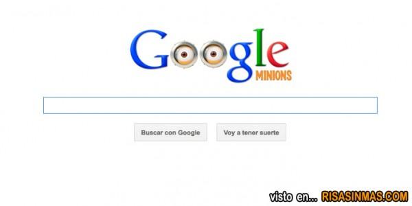 Doodle dedicado a los Minions