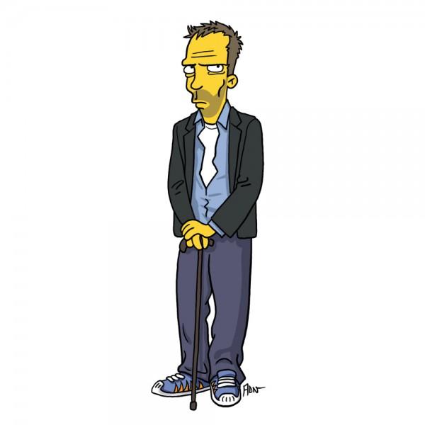 Dr. House Simpsonizado