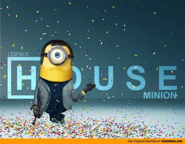 Dr. House como un Minion