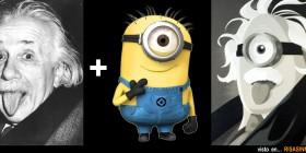 Einstein + Minion = ?