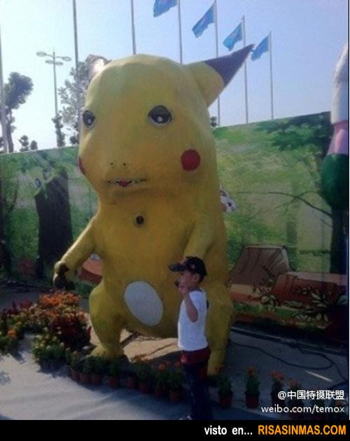 El Pikachu más feo del mundo