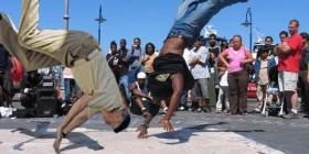 El Rey Juan Carlos bailando Break dance