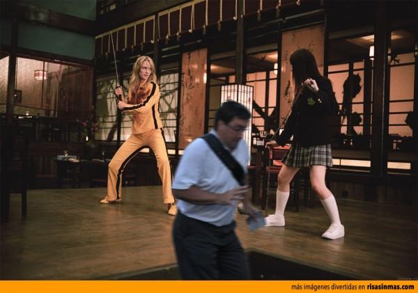 El arruina fotos en la película Kill Bill