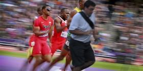 El arruina fotos también estaba en la carrera más rápida de la historia