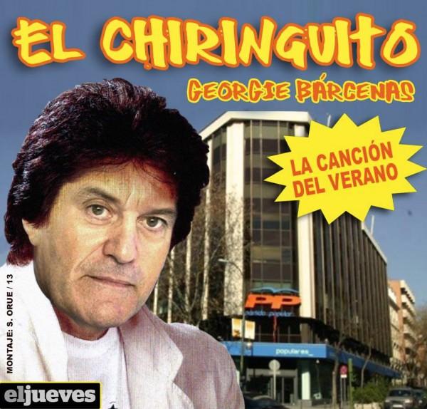 El Chiringuito: Georgie Bárcenas