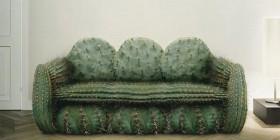 El sofá cactus