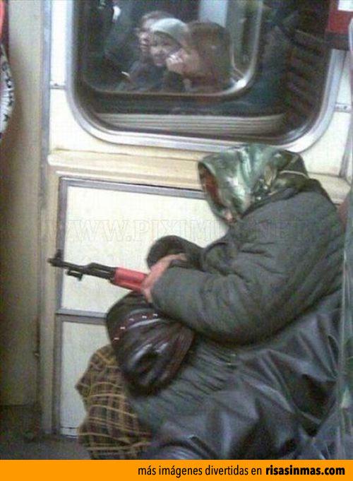En un tren cualquiera de Rusia