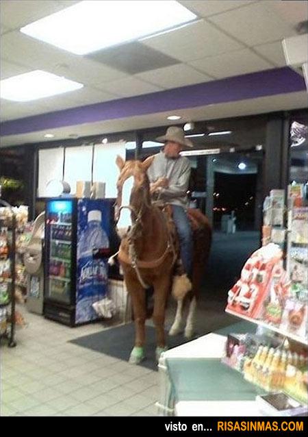 En una gasolinera cualquiera de Texas