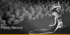 Freddie Mercury como Minion
