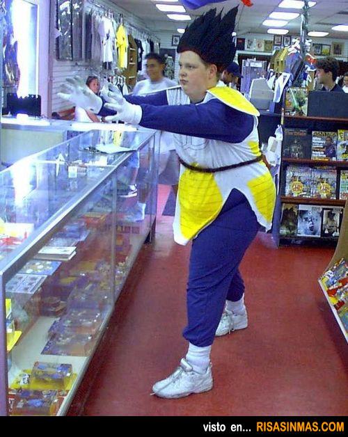 Goku entradito en kilos