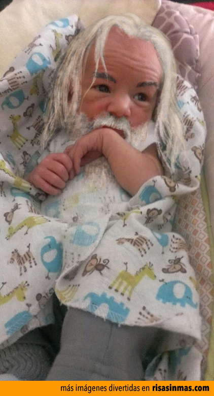 Imagen de Gandalf de bebé