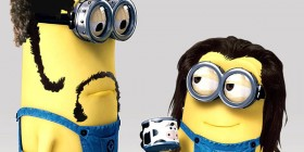 Jules y Vincent de Pulp Fiction versión Minion