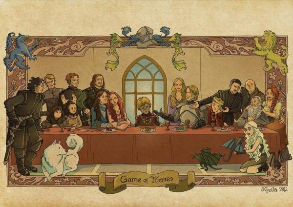 La última cena de Juego de Tronos
