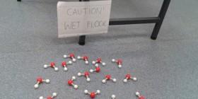 Lección de química divertida