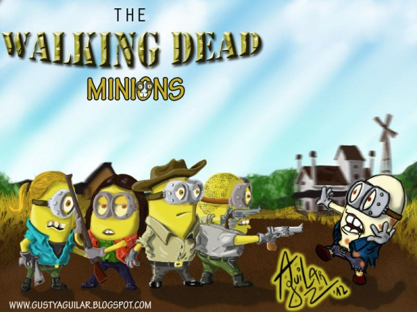 Los Minions como personajes de The Walking Dead