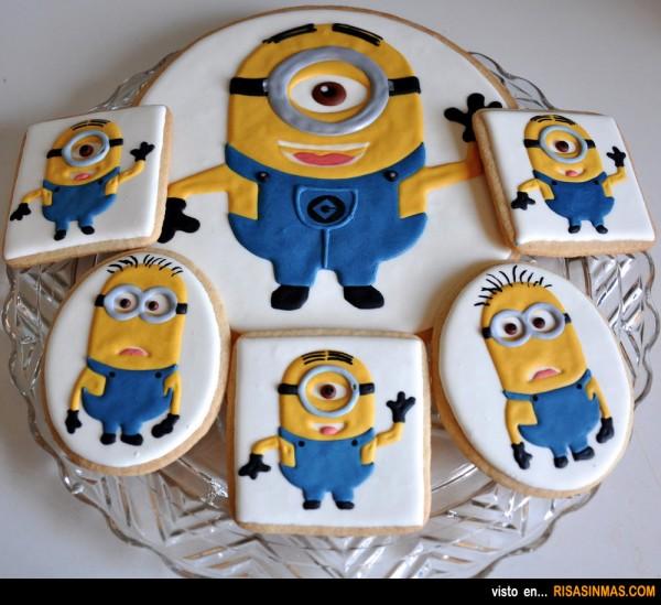 Los Minions en galletas