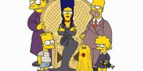 Los Simpson como La Familia Addams