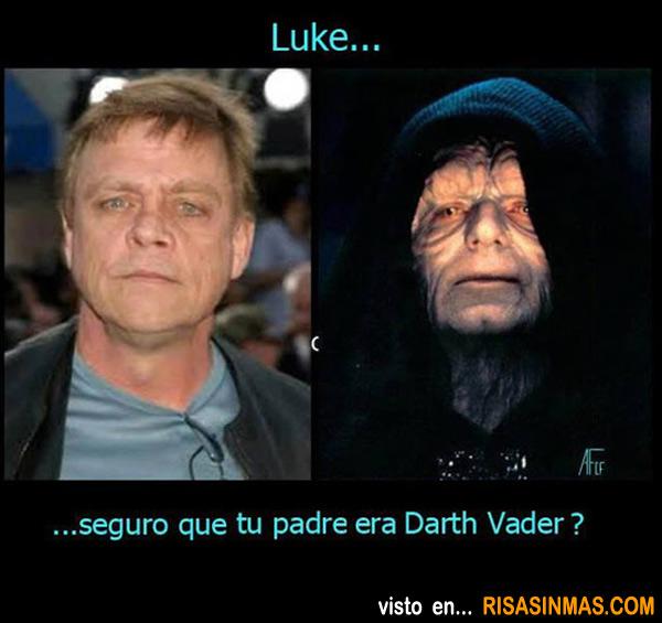 ¡Luke, yo si soy tu padre!
