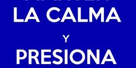 Mantén la calma y presiona CRTL + ALT + SUP