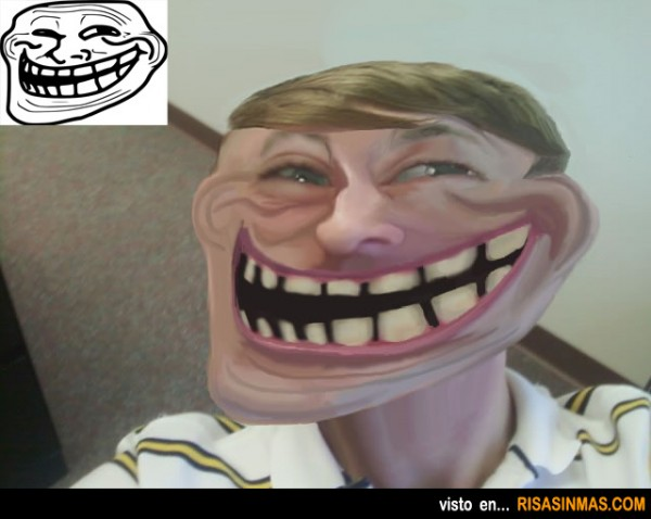 Memes reales: Troll face