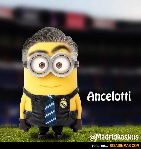Minion de Carlo Ancelotti