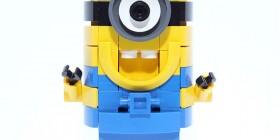 Minion hecho con LEGO