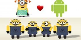 Minion y Android se hacen pareja y...