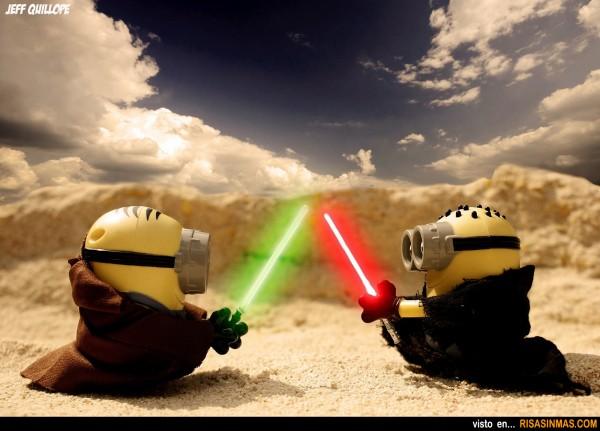 Minions Jedi