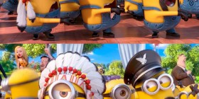 Minions como los Village People