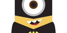 Minions como superhéroes: Batman