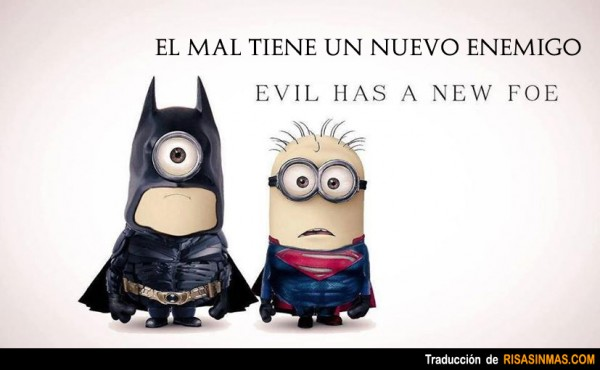 Minions de Batman y Superman
