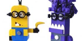 Minions hechos con LEGO