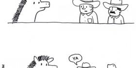 Nadie puede montar al caballo Lucifer