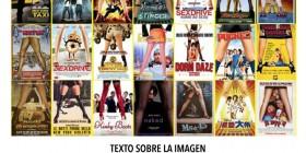 Posters de cine con ideas excesivamente usadas