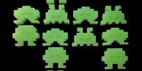 Pastillas de jabón Space Invaders
